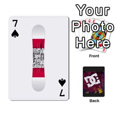 Dc Cards By Luvbugerin   Playing Cards 54 Designs   Vm628eqa6hb1   Www Artscow Com Front - Spade7