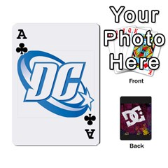 Ace Dc Cards By Luvbugerin   Playing Cards 54 Designs   Vm628eqa6hb1   Www Artscow Com Front - ClubA