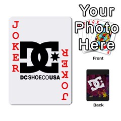 Dc Cards By Luvbugerin   Playing Cards 54 Designs   Vm628eqa6hb1   Www Artscow Com Front - Joker2