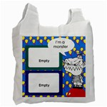 I m a monster -  BAG - Recycle Bag (One Side)