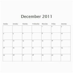 Our Calendar By Heidi Short   Wall Calendar 11  X 8 5  (12 Months)   8pc9j9xn7dlr   Www Artscow Com Dec 2011