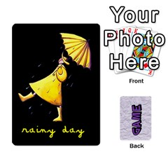 Memory Game With Your Own Photos    Playing Cards By Carmensita   Playing Cards 54 Designs   Juulj0kswdpp   Www Artscow Com Front - Spade5