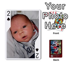 Family Playing Cards By Shari   Playing Cards 54 Designs   5uykd8s4jhd9   Www Artscow Com Front - Spade2