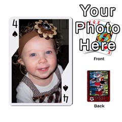 Family Playing Cards By Shari   Playing Cards 54 Designs   5uykd8s4jhd9   Www Artscow Com Front - Spade4