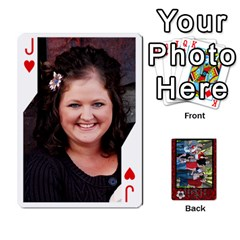 Jack Family Playing Cards By Shari   Playing Cards 54 Designs   5uykd8s4jhd9   Www Artscow Com Front - HeartJ
