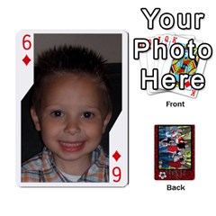 Family Playing Cards By Shari   Playing Cards 54 Designs   5uykd8s4jhd9   Www Artscow Com Front - Diamond6