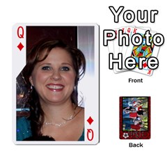 Queen Family Playing Cards By Shari   Playing Cards 54 Designs   5uykd8s4jhd9   Www Artscow Com Front - DiamondQ