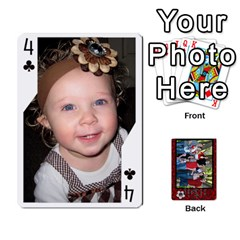 Family Playing Cards By Shari   Playing Cards 54 Designs   5uykd8s4jhd9   Www Artscow Com Front - Club4