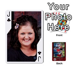 Jack Family Playing Cards By Shari   Playing Cards 54 Designs   5uykd8s4jhd9   Www Artscow Com Front - ClubJ