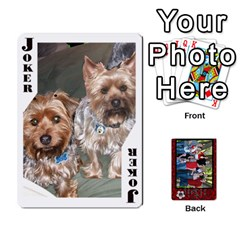 Family Playing Cards By Shari   Playing Cards 54 Designs   5uykd8s4jhd9   Www Artscow Com Front - Joker1