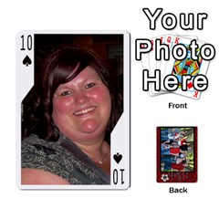 Family Playing Cards By Shari   Playing Cards 54 Designs   5uykd8s4jhd9   Www Artscow Com Front - Spade10