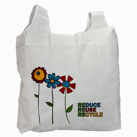 Reduce Reuse Bag By Albums To Remember   Recycle Bag (one Side)   2g4y2qa7uubv   Www Artscow Com Front