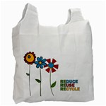Reduce Reuse Bag - Recycle Bag (One Side)