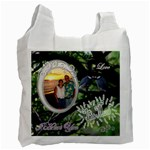 I Heart You THIS MUCH love birds honeymoon recycle bag 2 sides - Recycle Bag (Two Side)