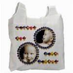 cupcakes family  recycle bag - Recycle Bag (Two Side)