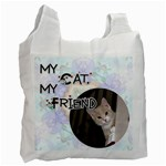 My Cat, My Friend Recycle Bag - Recycle Bag (One Side)