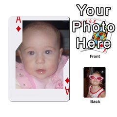 Ace Avery Cards By Pat   Playing Cards 54 Designs   0u3rpi1f9iuv   Www Artscow Com Front - DiamondA