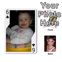 Avery Cards By Pat   Playing Cards 54 Designs   0u3rpi1f9iuv   Www Artscow Com Front - Club6