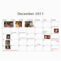 Calendar 2010 Cl By Erica   Wall Calendar 11  X 8 5  (12 Months)   Ekaot6gcz4pa   Www Artscow Com Dec 2011