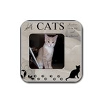 A Cats function Coaster - Rubber Coaster (Square)