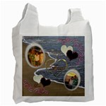 I Heart You 33 ocean vacation recycle bag - Recycle Bag (One Side)