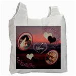 I Heart You 35 sunset recycle bag - Recycle Bag (One Side)