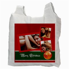 Christmas By Wood Johnson   Recycle Bag (two Side)   W9al4impae1b   Www Artscow Com Back
