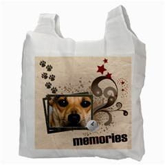 Memories Pet By Joely   Recycle Bag (two Side)   Qq1fb2uadfdv   Www Artscow Com Back