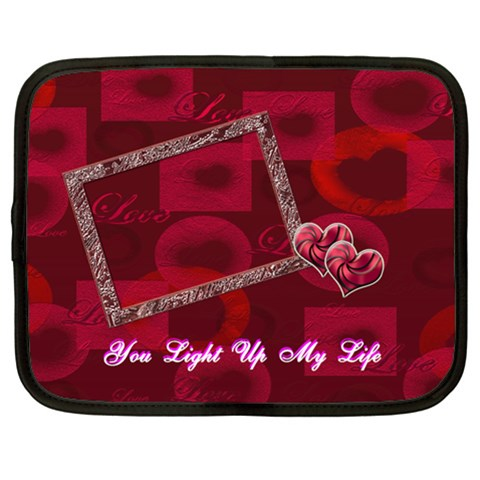 You Light Up My Life 13 Inch (xl) Netbook Case By Ellan   Netbook Case (xl)   6vp0ufnmv47y   Www Artscow Com Front