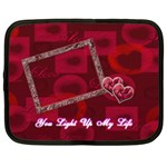 You Light Up my Life 13 inch (XL) Netbook Case - Netbook Case (XL)