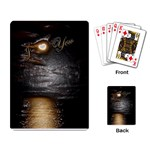 I Heart You Moon wrap Playing Cards - Playing Cards Single Design