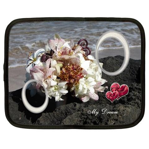 My Dream Wedding White 13 Inch (xl) Netbook Case By Ellan   Netbook Case (xl)   Dzmb5qr8nbc3   Www Artscow Com Front