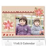 calendar2011 - Wall Calendar 11  x 8.5  (12-Months)