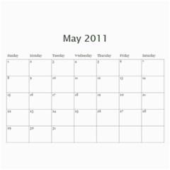 Calendar2011 By Snezhana Angelova   Wall Calendar 11  X 8 5  (12 Months)   H4x5jxlzoe0m   Www Artscow Com May 2011