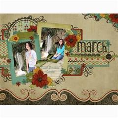 2011 Shabby Calendar By Haley Bach   Wall Calendar 11  X 8 5  (12 Months)   K5xmpgqk629e   Www Artscow Com Month
