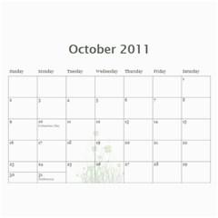 Moose Calendar By Gnose   Wall Calendar 11  X 8 5  (12 Months)   Eza0647hrtfe   Www Artscow Com Oct 2011