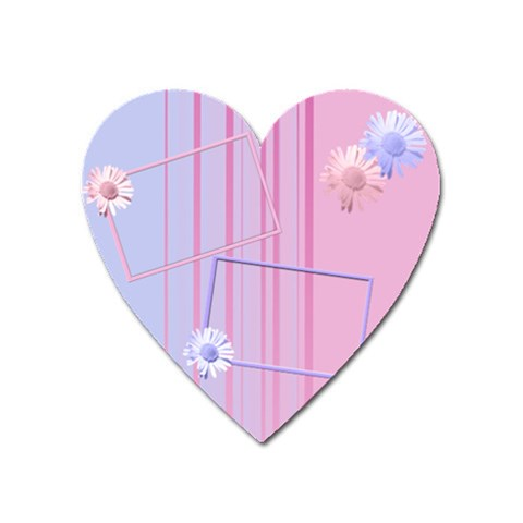 Flowers Magnet By Add In Goodness And Kindness   Magnet (heart)   Owvjimebo6we   Www Artscow Com Front