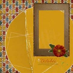 20 Fall Harvest Quick Pages By Mikki   Scrapbook Page 12  X 12    697uruwo0vi3   Www Artscow Com 12 x12 Scrapbook Page - 20