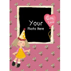 Lil Card1 By Lillyskite   Greeting Card 5  X 7    Ijldopjad7ja   Www Artscow Com Front Cover