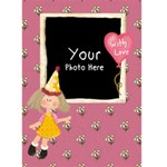 Lil-card1 - Greeting Card 5  x 7