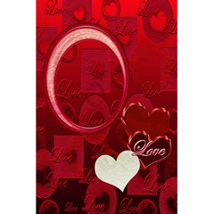 I Heart You Red Love Personal Notebook By Ellan   5 5  X 8 5  Notebook   2ecbyr5g11yt   Www Artscow Com Front Cover