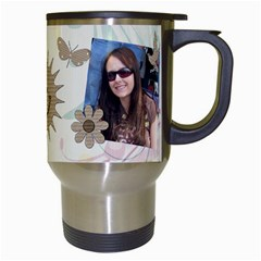 Off To Work I Go Mug #1 By Lil    Travel Mug (white)   4369cg0aevpv   Www Artscow Com Right