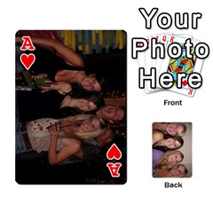 Ace Mels Bday Cards By Brittany Nelson   Playing Cards 54 Designs   C0n4hsa6epbr   Www Artscow Com Front - HeartA