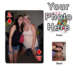 Ace Mels Bday Cards By Brittany Nelson   Playing Cards 54 Designs   C0n4hsa6epbr   Www Artscow Com Front - DiamondA