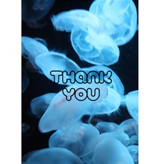 Moonjelly Thank You By Darcy Amanda   Greeting Card 4 5  X 6    89uu6gcwksu6   Www Artscow Com Front Cover
