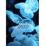 moonjelly thank you - Greeting Card 4.5  x 6
