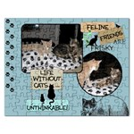 Feline Friends Puzzle - Jigsaw Puzzle (Rectangular)