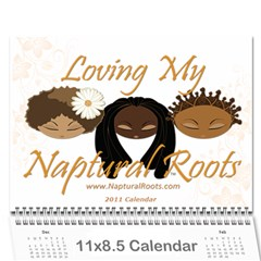 Naptural Roots 2011 Calendar By Leanne Dolce   Wall Calendar 11  X 8 5  (12 Months)   S1wxosl162hz   Www Artscow Com Cover
