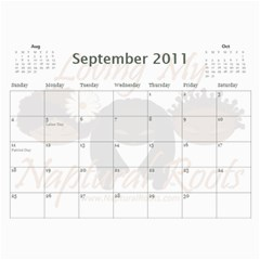 Naptural Roots 2011 Calendar By Leanne Dolce   Wall Calendar 11  X 8 5  (12 Months)   S1wxosl162hz   Www Artscow Com Sep 2011