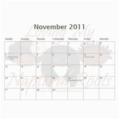 Naptural Roots 2011 Calendar By Leanne Dolce   Wall Calendar 11  X 8 5  (12 Months)   S1wxosl162hz   Www Artscow Com Nov 2011